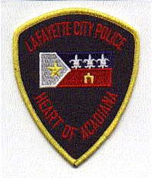 Lafayette City Police Patch (LA)