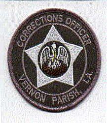 Sheriff: LA. Vernon Parish Sheriffs Dept. Corrections Officer Patch
