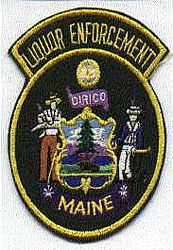 State: ME, Liquor Enforcement Patch