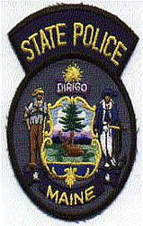 State: ME, State Police Patch