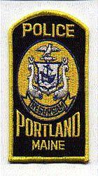 Portland Police Patch (ship)(ME)