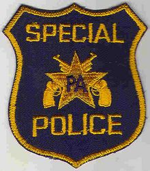 Special Police Patch (shield) (PA)