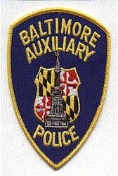 Baltimore Aux. Police Patch (MD)