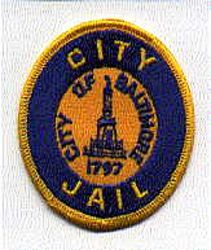 Baltimore City Jail Patch (round) (MD)