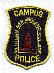 School: MA, Western New England College Campus Police Patch