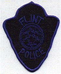 Flint SWAT Police Patch (blue edge) (MI)