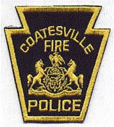 Coatesville Fire Police Patch (PA)