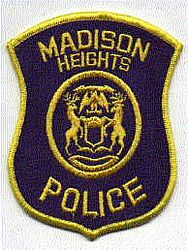 Madison Heights Police Patch (MI)