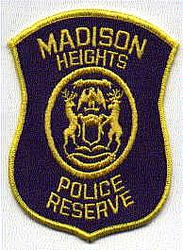 Madison Heights Police Reserve Patch (MI)