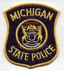 State: MI, State Police Patch