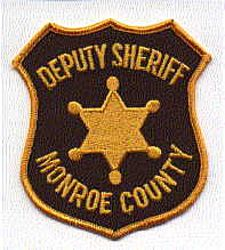 Sheriff: MI, Monroe Co. Deputy Sheriffs Dept. Patch