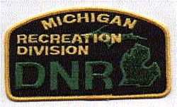 Park: MI, DNR Recreation Division Patch