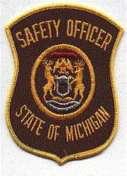 Safety Officer Patch (brown/gold) (MI)