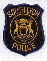 South Lyon Police Patch (small) (MI)
