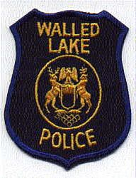 Walled Lake Police Patch (MI)