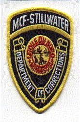 MCF Stillwater Dept. of Corrections Patch (MN)
