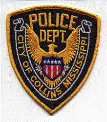 Collins City Police Patch (MS)