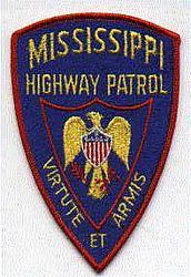 State: MS. Highway Patrol Patch