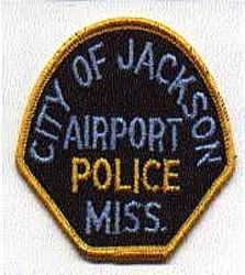 Jackson City Airport Police Patch (MS)