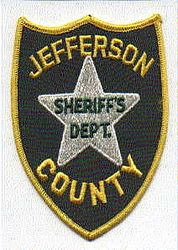 Sheriff: MS, Jefferson Co. Sheriffs Dept. Patch