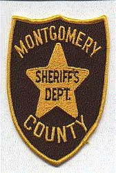 Sheriff: MS, Montgomery Co. Sheriffs Dept. Patch (brown/gold)