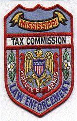 Tax Commission Law Enforcement Agent Patch (MS)
