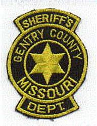 Sheriff: MO, Gentry Co. Sheriffs Dept. Patch
