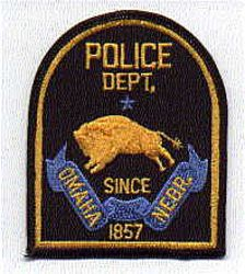 Omaha 1857 Police Dept. Patch (NE)