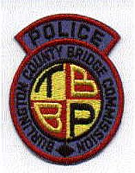 Burlington Co. Bridge Commission Police Patch (with tab) (NJ)