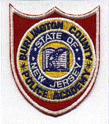 Burlington Co. Police Academy Patch (NJ)