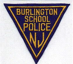 School: NJ, Burlington School Police Patch