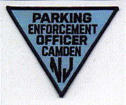 Camden Parking Enforcement Officer Patch (NJ)