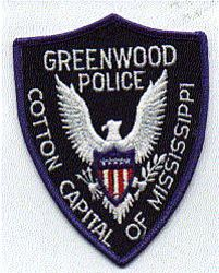 Greenwood Police Patch (MS)