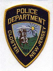 Closter Police Patch (NJ)