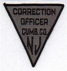 Cumb Co. Correction Officer Patch (NJ)
