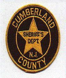 Sheriff: NJ, Cumberland Co. Sheriffs Dept. Patch