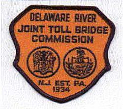 Del. River Joint Toll Bridge Commision Patch (NJ)