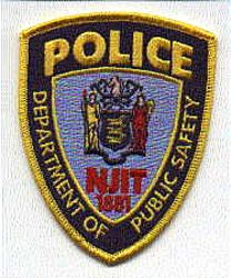 Dept. of Public Safety Police Patch (NJ)