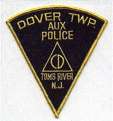 Dover Twp. Aux. Toms River Police Patch (NJ)