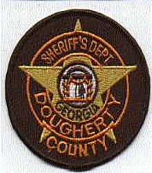 Sheriff: GA, Dougherty Co. Sheriffs Dept. Patch (round, new)
