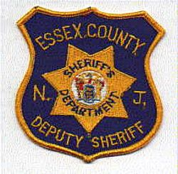 Sheriff: NJ, Essex Co. Deputy Sheriff Patch