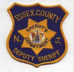 Sheriff: NJ, Essex Co. Deputy Sheriff Patch