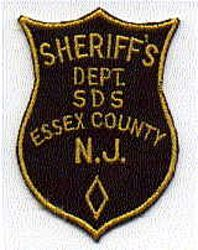 Sheriff: NJ, Essex Co. Sheriffs Dept. SDS Patch (old)