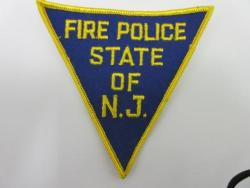 New Jersey State Fire Police Patch (NJ)