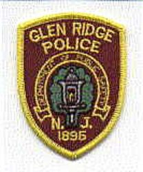 Glen Ridge Police Patch (cap size) (NJ)