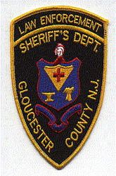 Sheriff: NJ,Gloucester Co. Sheriffs Dept. Law Enforcement Patch