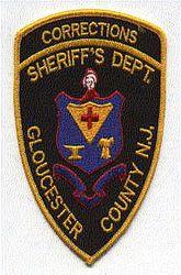 Sheriff: NJ, Gloucester Co. Sheriffs Dept. Corrections Patch