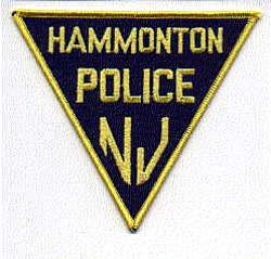 Hammonton Police Patch (NJ)