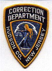 Hudson Co. Corrections Dept. Patch (NJ)