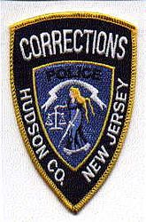 Hudson Co. Corrections Police Patch (NJ)